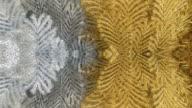 gold kaleidoscope backgrounds