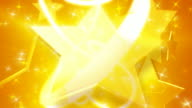 Gold Star Background Plate