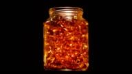 Gold Vitamins In a Jar