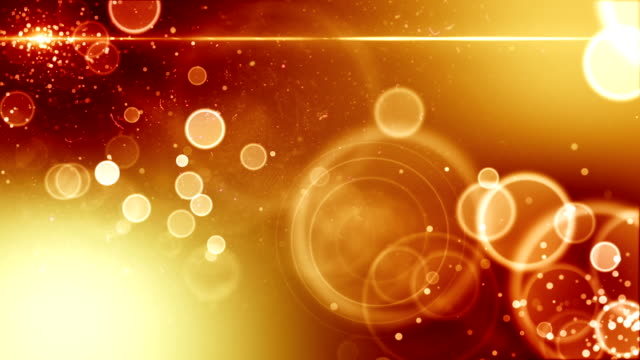 Golden background with flare