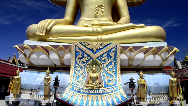 Golden big buddha