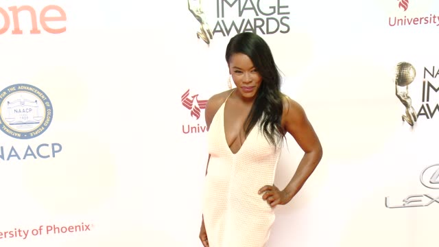 Golden Brooks at the 46th Annual NAACP Image Awards Arrivals at Pasadena Civic Auditorium on February 06 2015 in Pasadena California