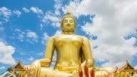 Golden buddha at Wat Muang