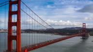 Golden Gate Bridge. 4K.