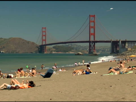 Golden Gate Bridge and Beach