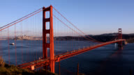 Golden Gate Bridge from Day to Night