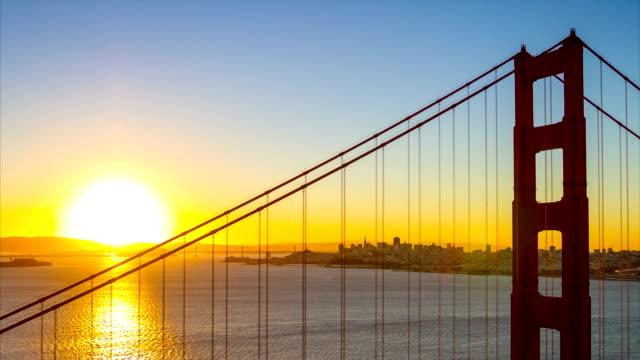 Golden Gate Brücke Zeitraffer