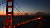 Golden Gate Bridge Sunrise Time Lapse