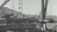 MS Golden gate bridge under construction
