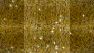 Golden glitter wall loopable