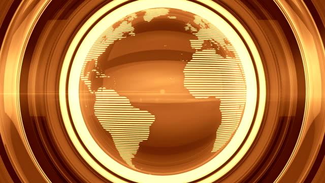 Golden glansigt Globe