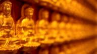 golden image buddha