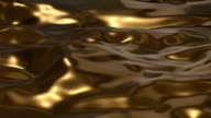 Golden Liquid Surface