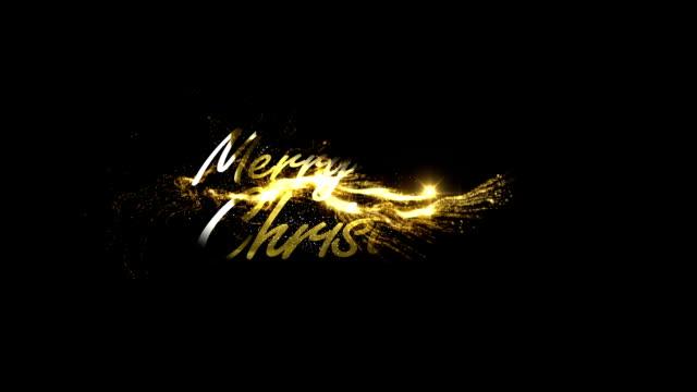 Golden Merry Christmas