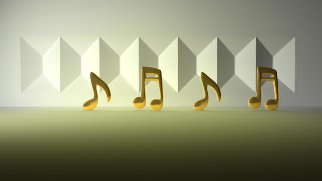 Golden note musicali saltare