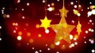 Goldene Sterne Slinged