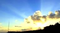 Gouden zonsondergang 05