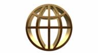 Golden World Symbol