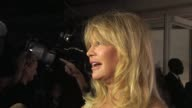 Goldie Hawn on her charity The Hawn Foundation and it's work becoming a Grandmother at de Grisogono Party 64th Cannes Film Festival on May 17 2011 in...