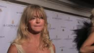 Goldie Hawn on her secret to looking good at de Grisogono Party 64th Cannes Film Festival on May 17 2011 in Antibes France