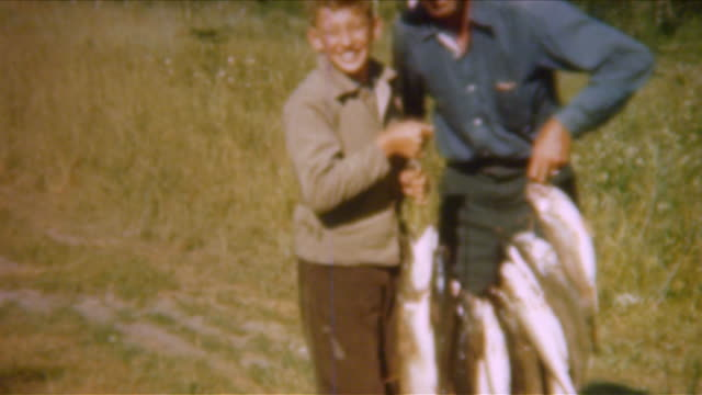 Gone Fishing 1940 er Jahren