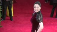 Gong Li at 'China Through The Looking Glass' Costume Institute Benefit Gala Arrivals at Metropolitan Museum of Art on May 04 2015 in New York City