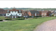 Gordon Brown announces plans to tackle housing shortage Kent St Mary's Island General views suburban affordable housing complex featuring detached...