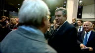 Gordon Brown attends Times BFI London Film Festival function ENGLAND London National Film Theatre THROUGHOUT** Gordon Brown MP into reception...