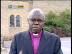 Gordon Brown calls for sanctions to increase pressure on Mugabe Dr John Sentamu LIVE 2WAY interview from Whitby SOT