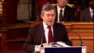 Gordon Brown gives Romanes Lecture at Oxford University Gordon Brown speech SOT And this technology this ability to communicate with each other and...