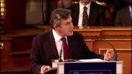 Gordon Brown gives Romanes Lecture at Oxford University Gordon Brown speech SOT I am sure we would all agree that having the scientific capacity to...