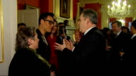 Gordon Brown hosts Chinese New Year event at Downing Street ENGLAND London Downing Street THROUGHOUT*** Various shots of Gordon Brown MP and his wife...