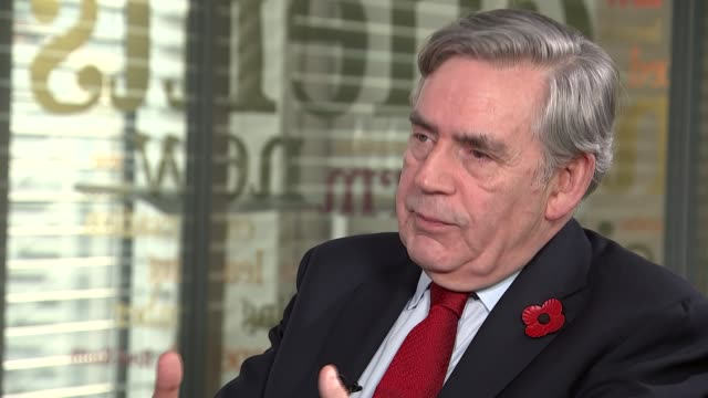 London INT Gordon Brown interview SOT re Paradise Papers / tax avoidance / universal credit / NHS / not enough done after financial crisis /...