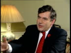 Gordon Brown interview following birth of his baby ITN London Downing Street Gordon Brown MP interview SOT sleepless nights sleepless early hours...