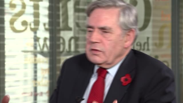 Gordon Brown interview Gordon Brown interview SOT re Brexit / EEA / immigration / need for a 'policy gamechanger' / Iraq