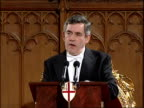 Gordon Brown makes foreign relations speech at Lord Mayor's banquet Gordon Brown speech SOTcontinues Building a global society means agreeing that...