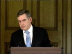 Gordon Brown monthly press conference Gordon Brown press conference Q Question on England losing at football On not calling for a snap election More...
