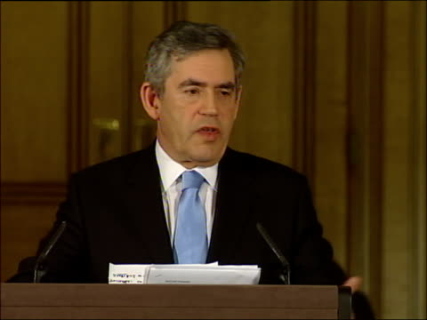 Gordon Brown press conference on why he ruled out a 2007 general election Your criticism of the Tory tax proposals has focused on the forensic detail...