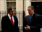 Gordon Brown press conference with Al Gore at Downing Street Q heard do you think climate change bill in this country could be picked up in US does...