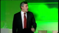 Gordon Brown speech at Google Zeitgeist Conference And I think it is also true something else that we should say to people we can in the next 20...