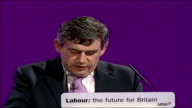 Gordon Brown speech at Labour Party conference 2006 In that endeavour I would be determined to draw on all the talents of our party and country / And...