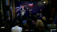 Gordon Brown speech on Britain's digital future Gordon Brown speech continued SOT And using the internet rather than filling in paper forms or...