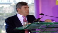 Gordon Brown speech on 'Britishness' In 1997 Scotland suffered from low growth rising poverty inadequately funded public services / Interest rates...