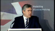 Gordon Brown speech on crime and antisocial behaviour Gordon Brown speech continues SOT But though these tragic cases rightly make us strive to do...