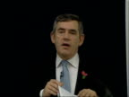 Gordon Brown speech on education Because we cannot afford to leave any young person behind outside work or study because we owe it to our young...