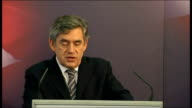 Gordon Brown speech on immigration Gordon Brown speech continued SOT But at the same time we will encourage probationary citizens to demonstrate...