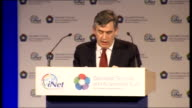 Gordon Brown speech on social mobility Brown speech SOT Old ideas that intelligence can be reduced to a single number in an IQ test that we need to...