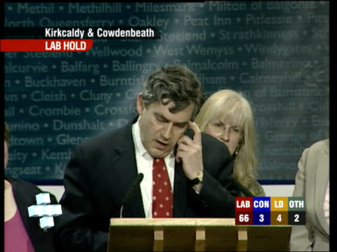Gordon Brown speech SOT Thanks college for conducting event / Thanks eight other candidates for their dignity / Thanks agent and Labour party...