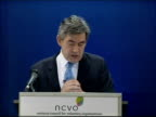 Gordon Brown speech to the National Council of Voluntary Organisations So in the next three weeks we will tackle three big issues in Citizens Juries...
