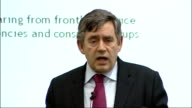 Gordon Brown speech to 'Which' forum Brown speech SOT Four things want to discuss today Fairer rules for debt enforcement need new measures to...